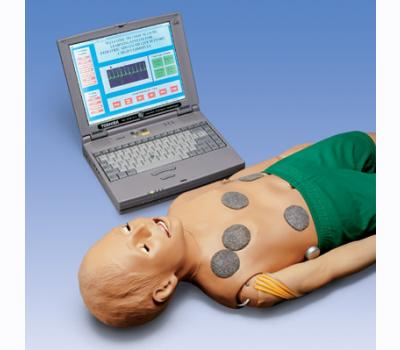 Child Interactive PALS Manikin with laptop computer / Child 5 ye